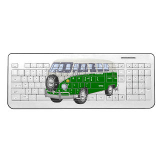 Custom Hippy Van Wireless Keyboard