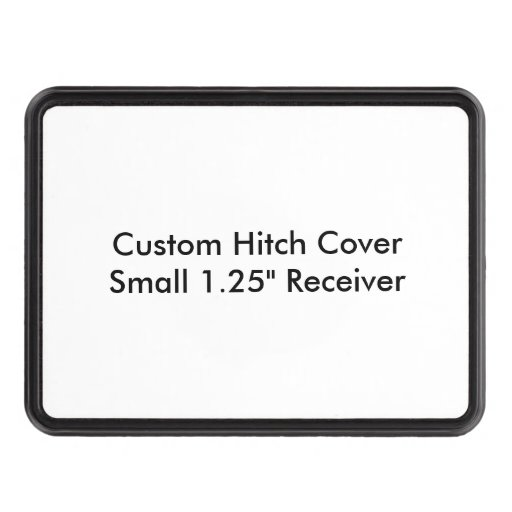 "Custom Hitch Cover Small 1.25"" Receiver Template"