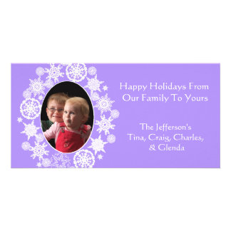 Custom Holiday Photo Card