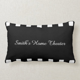 Custom Home Theater Pillow