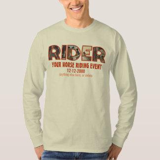 Custom horseback riding event (English style) T-Shirt
