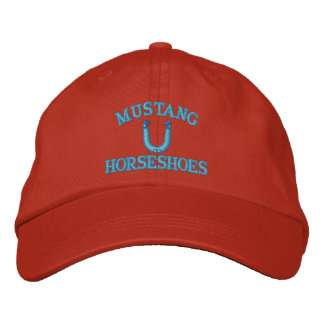 Custom HorseShoe Pitching Cap