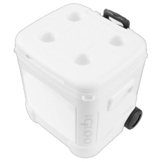 Custom Igloo Roller Cooler