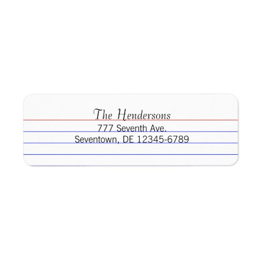 Custom Index Card