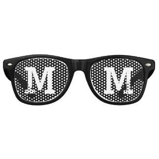 Custom Initial Party Sunglasses