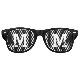Custom Initial Retro Sunglasses