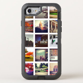Custom Instagram Photo Collage OtterBox Defender iPhone 8/7 Case