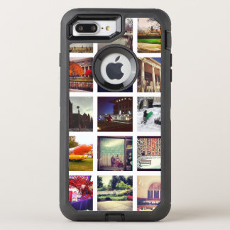 Custom Instagram Photo Collage OtterBox Defender iPhone 8 Plus/7 Plus Case