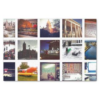Custom Instagram Photo Collage Tissue Paper