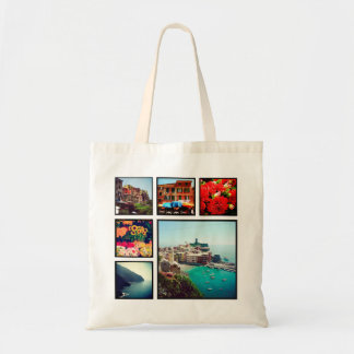 Custom Instagram Photo Collage Tote Bag