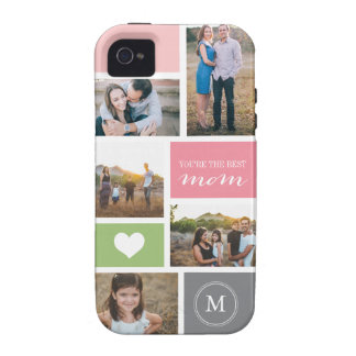 Custom iPhone 4 Mother s Day Photo Collage iPhone 4 Cases