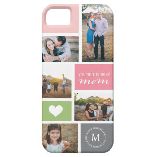 Custom iPhone 5 Mother's Day Photo Collage Cover iPhone 5 Covers