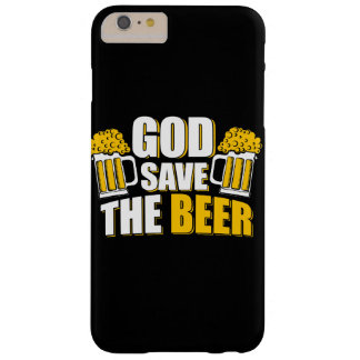 Custom iPhone 6/6s Plus Case god save the beer