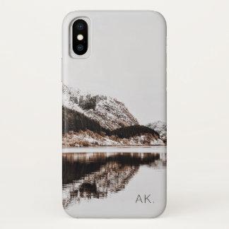 Custom iPhone X CaseMate Case   Mountains