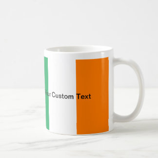 Custom Irish Flag Coffee Mug
