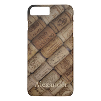 Custom Italian Wine Corks iPhone 8 Plus/7 Plus Case
