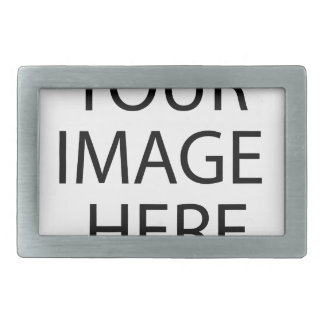 Custom Item Round Sticker Your Image Here Upload a Rectangular Belt Buckle