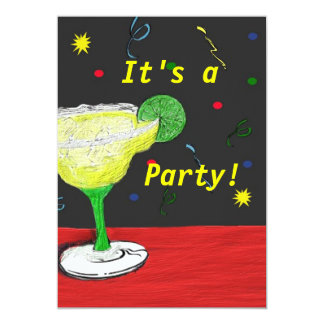 Custom It's A Party Card