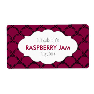 Custom Jam, Sauce, Canning or Product Labels