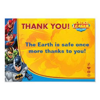 Custom Justice League Birthday Card