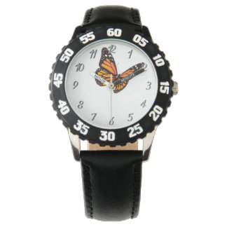 Custom Kids Butterfly Black Watch By Zazz_it