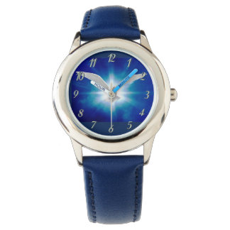 Custom Kids Dove Blue1 Watch By Zazz_it