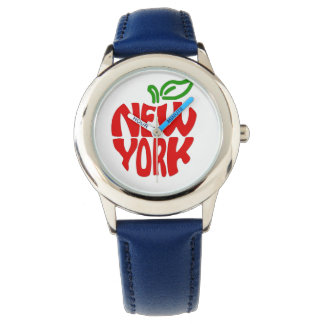 Custom Kids New York Blue Watch By Zazz_it