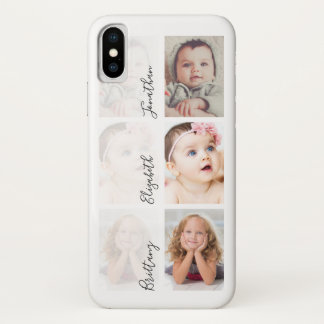 Custom Kids Photo Collage | Upload Your Own iPhone X Case