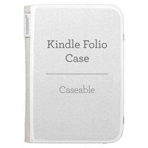 Custom Kindle 3 Case