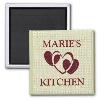 CUSTOM KITCHEN MAGNET..ADD YOUR NAME MAGNET