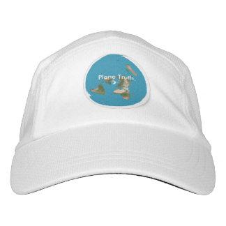 Custom Knit Azimuthal Equidistant Plane Truth Hat
