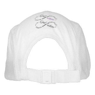 CUSTOM KNIT PERFORMANCE HAT, WHITE HEADSWEATS HAT