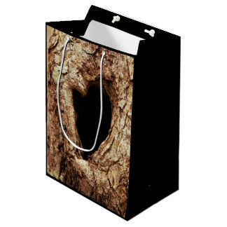 Custom Knot Hole Tree Gift Bag
