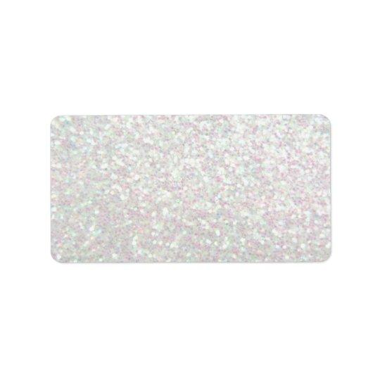 Custom Label - Glit Fab - Iridescent