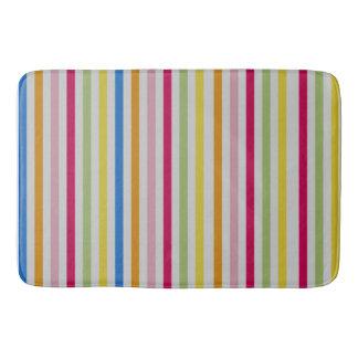 Custom Large Multi-Color Stripe Bathmat