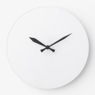 Custom Large Round Wall Clock