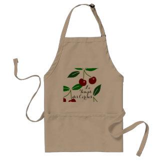 Custom Le Temps des Cerises Fresh Cherries Standard Apron