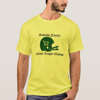 Custom League Fantasy Football t-shirt