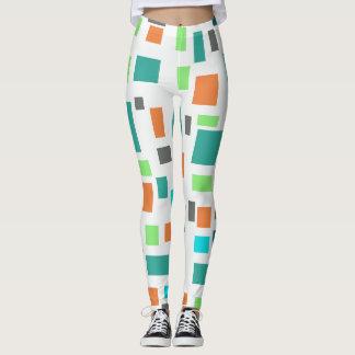 Custom Leggings with colorful trendy design