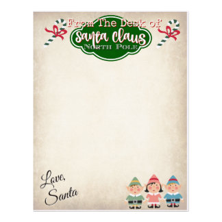 Custom Letter From Santa Claus Letterhead