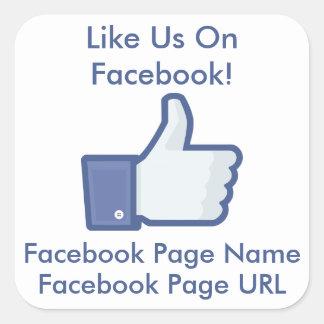 like us on facebook sticker template - facebook stickers facebook custom sticker designs