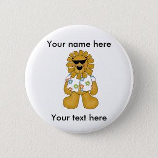 CUSTOM LION DUDE Button