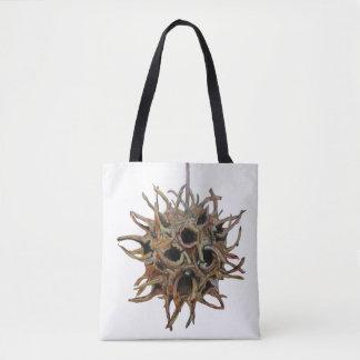 Custom Liquidambar styraciflua (Pod) Tote Bag