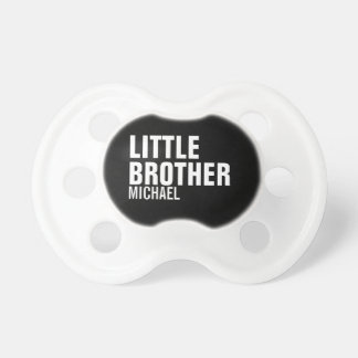 Custom Little Brother Baby Pacifier