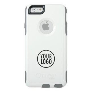 Custom Logo Branded White Commuter OtterBox iPhone 6/6s Case