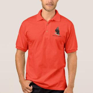 Custom logo, Raven Black Bird Business Polo Shirt