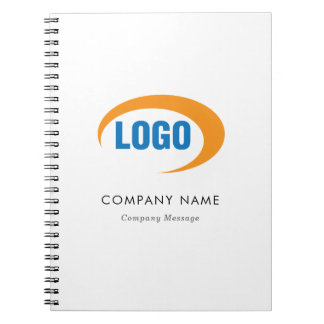 Custom Logo Spiral Notebooks