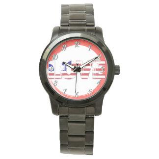 Custom Love USA Watch 1081 By Zazz_it