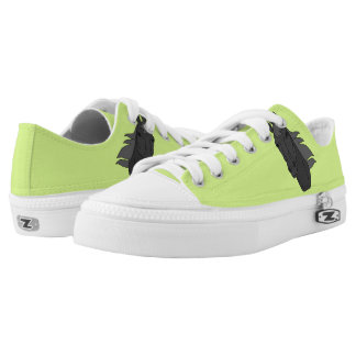 Custom Low Tops with Cute Horse