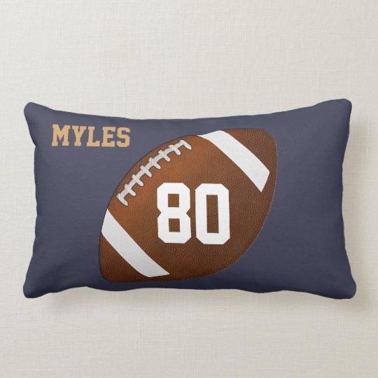 Custom Lumbar Football Pillow for YOUR TEAM